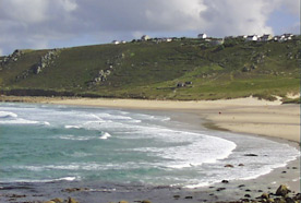 The beach at Sennen Cove